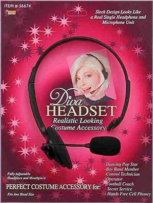 Microphone Diva Headset