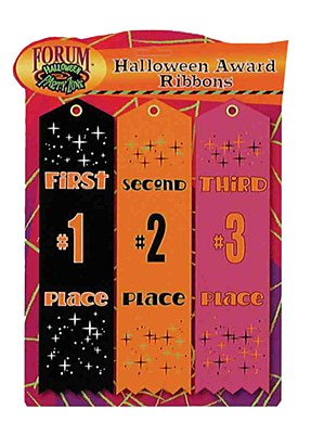 Award Ribbons Halloween