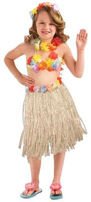 Hula Girl Child Set
