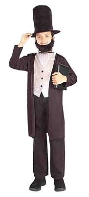 Abe Lincoln Child Costume
