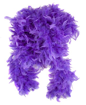 "72"" Purple Feather Boa"