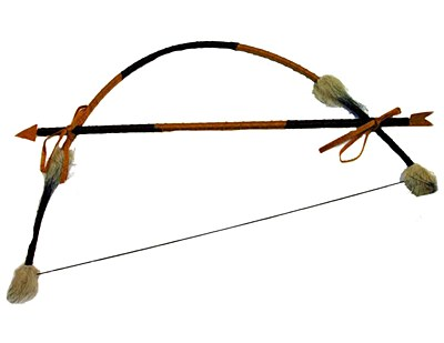 Deluxe Wood Indian Bow And Arrow