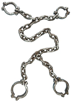 Chain Hand And Leg Shackle Set