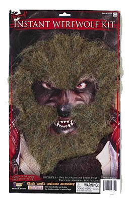 Werewolf Face Hair