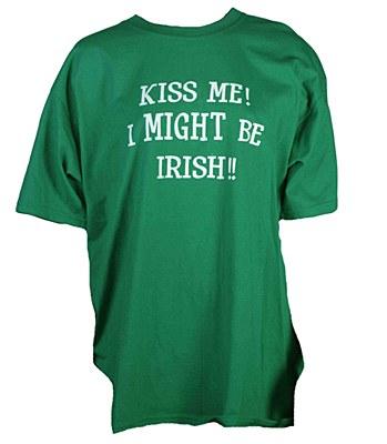 Kiss Me I Might Be Irish T-Shirt