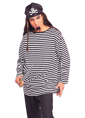 Pirate Matie Striped Shirt