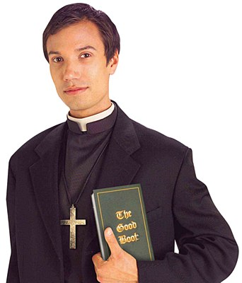 Priest Shirt Front And Collar Kit