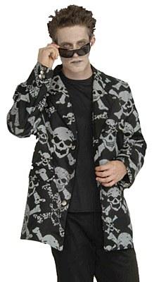 Skull & Crossbones Skeleton Men's Jacket