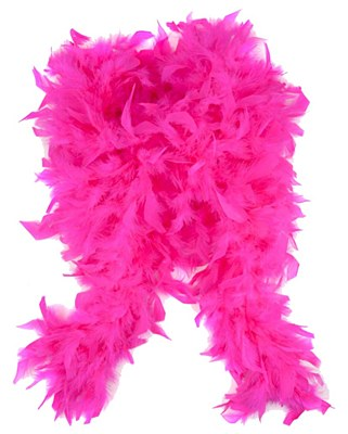 "72"" Hot Pink Feather Boa"