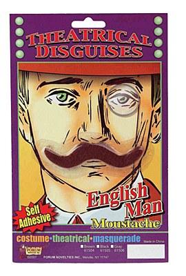 English Man Moustache