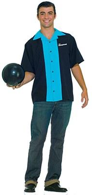 Bowling King Pins Adult Shirt