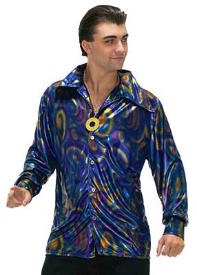 Disco Dynamite Dude Adult Shirt