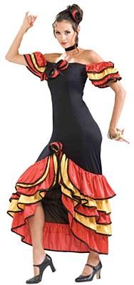 Spanish Lady Adult Costume