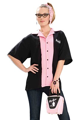 Queen Pins Ladies Bowling Shirt