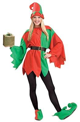 Elf Helper Unisex Adult Costume