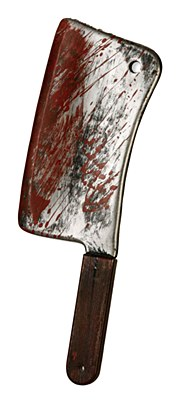 Bloody Butcher Meat Cleaver