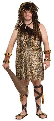Macho Caveman Adult Plus Costume