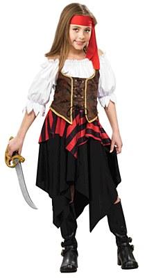 Buccaneer Sweetie Child Costume