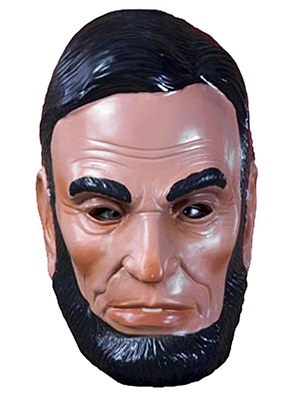 Abraham Lincoln Plastic Mask
