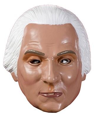 George Washington Plastic Mask