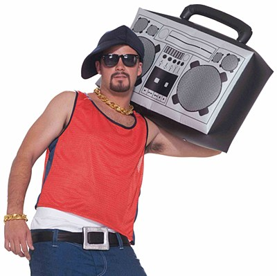 Inflatable Boom Box Stereo