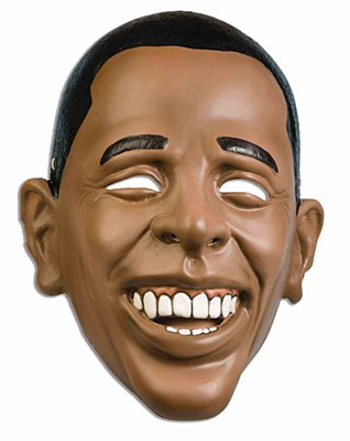 Barack Obama Plastic Mask