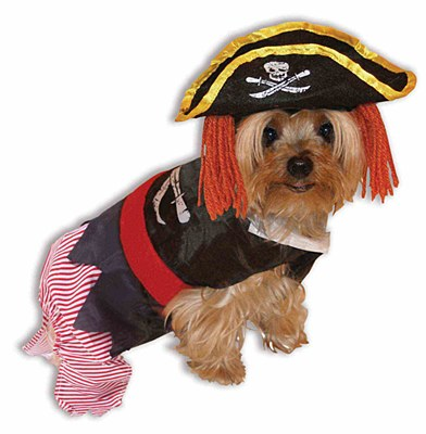 Pirate Doggie Pet Costume