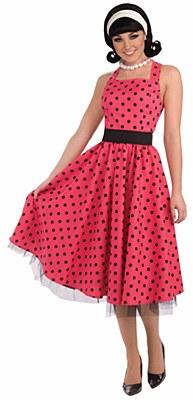Pretty in Polka Dot Adult Costume