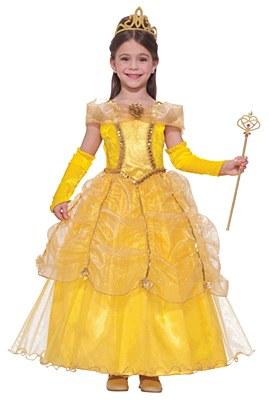 Gold Princess Child Costume