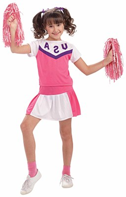 Cheerleader Child Costume