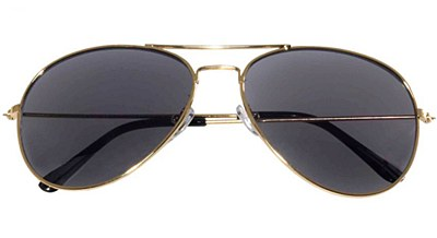 Aviator Gold Frame Sunglasses