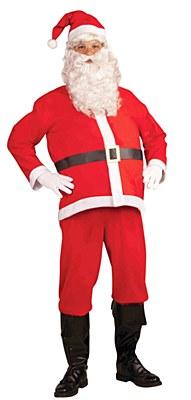 Santa Suit Economy Adult Costume
