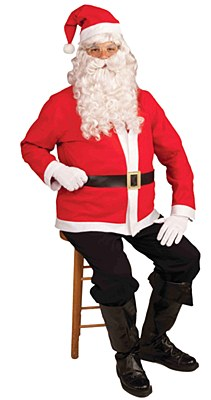 Santa Economy Set Adult Costume