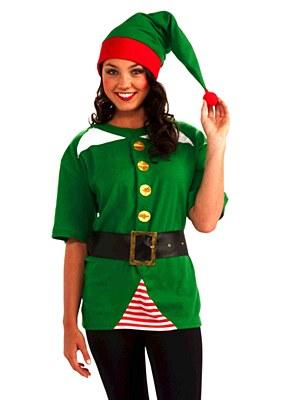 Elf Jolly Adult Costume Kit