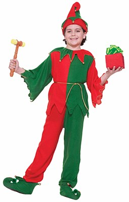 Santa's Elf Unisex Child Costume