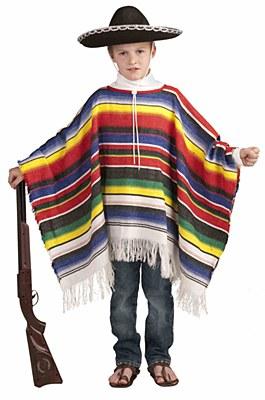 Mexican Falsa Child Poncho