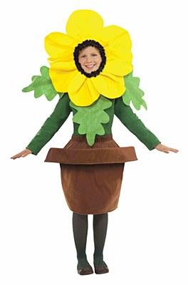 Sunny Blossom Flower Child Costume