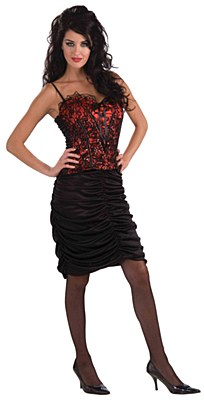 Vampiress Ruffled Skirt