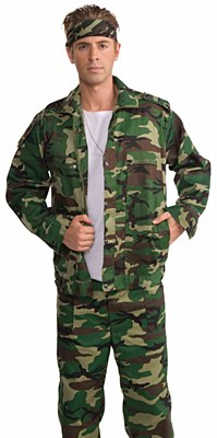 Combat Hero Adult Jacket