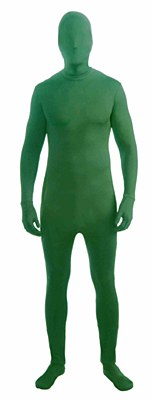 2nd Skin Green Morphsuit Adult Costume