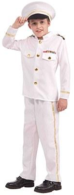 Navy Admiral Child Costume