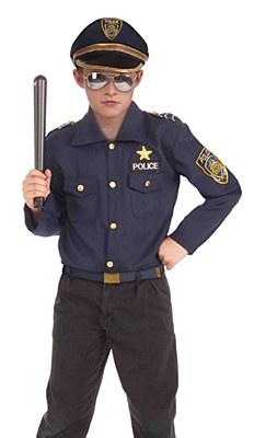 Police Child Costume Kit