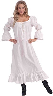 Chemise Under Gown Adult Costume