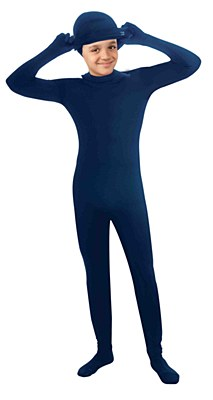 2nd Skin Blue Morphsuit Child Costume