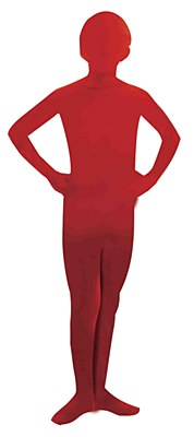 2nd Skin Red Morphsuit Child Costume