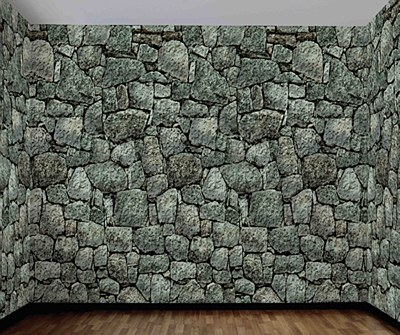 Stone Dungeon Wall Room Scene Setter