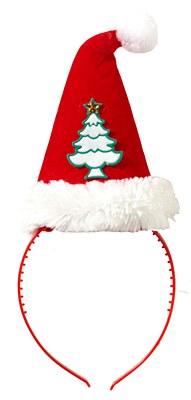Santa Hat Christmas Tree Headband