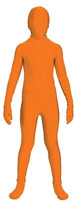 2nd Skin Orange Morphsuit Child Costume