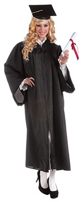 Graduation Gown Unisex Robe