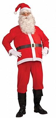 Santa Economy Suit Adult Costume